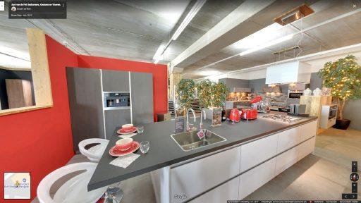 Virtuele tour van Aart van de Pol Badkamers, Keukens en Vloeren op Google Streetview