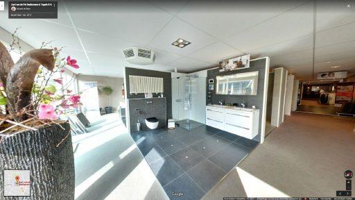 Virtuele tour van Aart van de Pol Badkamers & Tegels op Google Streetview