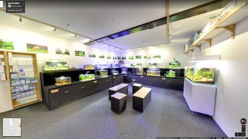 Virtuele tour van Aquaria Veldhuis op Google Streetview