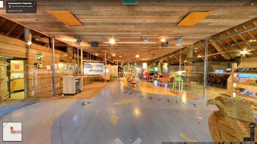 Virtuele tour van Bezoekerscentrum Tiengemeten op Google Streetview