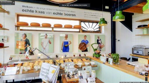 Virtuele tour van Boer en Goed Streekwinkel op Google Streetview