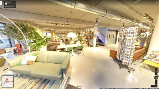 Virtuele tour van Brok Interieur op Google Streetview
