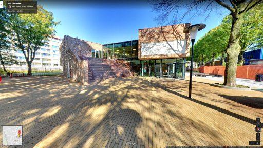 Virtuele tour van CBS Onze Wereld op Google Streetview