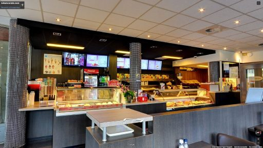Virtuele tour van Cafetaria de Gulle Jacob op Google Streetview