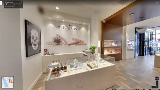 Virtuele tour van De Gunst Juwelier op Google Streetview