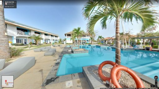 Virtuele tour van Djembe Beach Hotel op Google Streetview