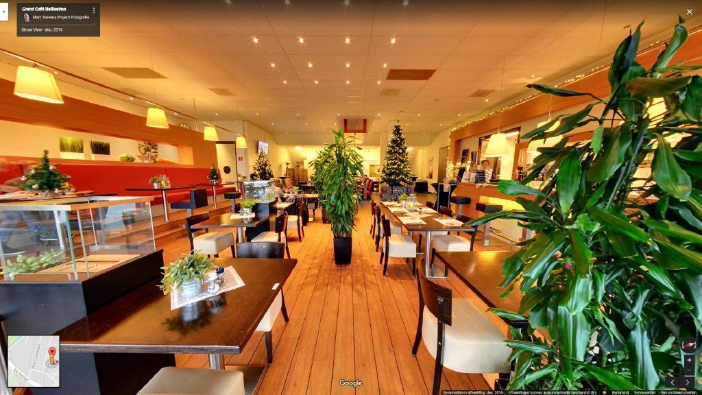 Virtuele tour van Grand Café Bellissimo op Google Streetview