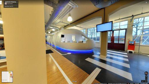 Virtuele tour van Jeugdtandarts Waalsprong op Google Streetview