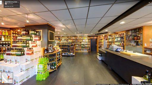 Virtuele tour van Slijterij Wijnhuis Ruud Bakker op Google Streetview