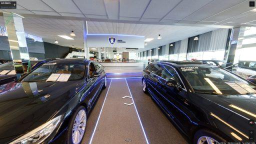 Virtuele tour van Auto Keijzers op Google Streetview