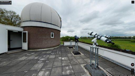 Virtuele tour van Cosmos Sterrenwacht op Google Streetview