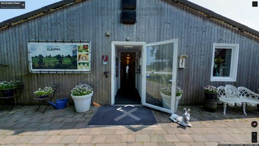 Virtuele tour van Bed & Breakfast El Manso op Google Streetview