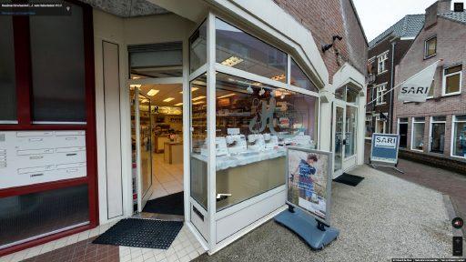 Virtuele tour van Naaimachinehandel L.J. van Huissteden V.O.F. op Google Streetview