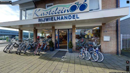 Virtuele tour van Rijwielhandel Kastelein op Google Streetview