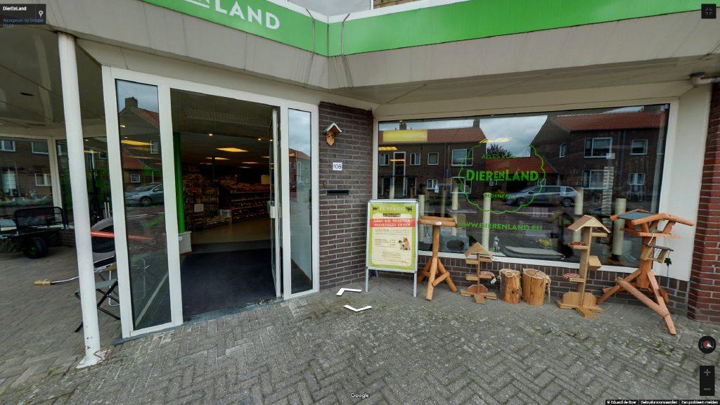 Virtuele tour van DierEnLand op Google Streetview