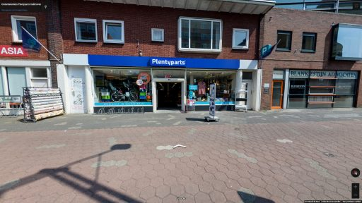 Virtuele tour van Onderdelenhuis Plentyparts Kuikhoven op Google Streetview