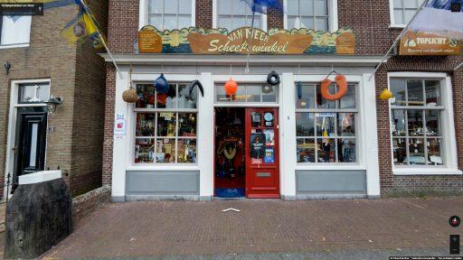 Virtuele tour van Scheepswinkel van Meer op Google Streetview