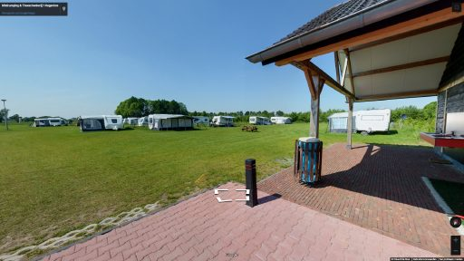 Virtuele tour van Minicamping & Theeschenkerij 't Oegenbos op Google Streetview