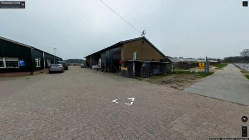Virtuele tour van Veluwse Asperge Boerderij op Google Streetview