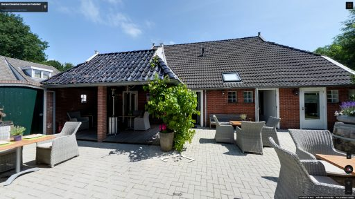 Virtuele tour van Bed and Breakfast Hoeve de Vredenhof op Google Streetview