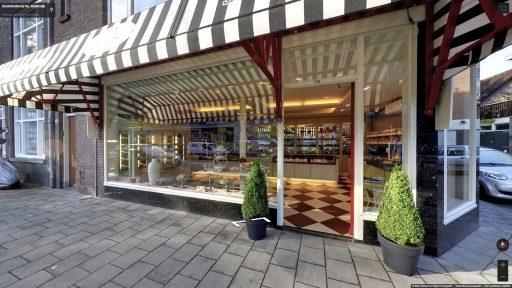 Virtuele tour van Banketbakkerij Nic. Molendijk op Google Streetview