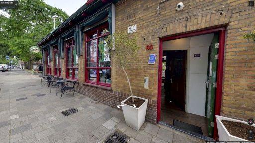 Virtuele tour van Café Paviljoentje op Google Streetview