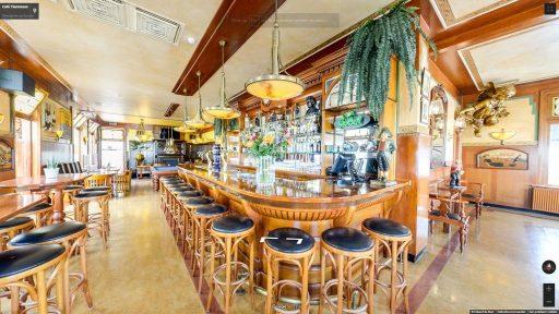 Virtuele tour van Café Tiemessen op Google Streetview
