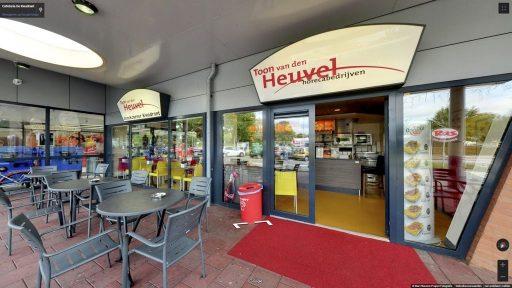 Virtuele tour van Cafetaria De Kwadrant op Google Streetview