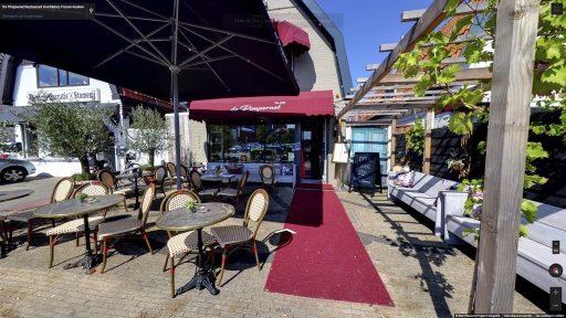 Virtuele tour van Bistro De Pimpernel op Google Streetview