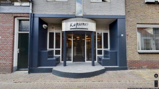 Virtuele tour van Kapsones Hairstylisten op Google Streetview