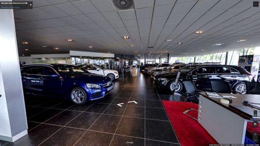 Virtuele tour van Mercedes-Benz Biemond & van Wijk op Google Streetview