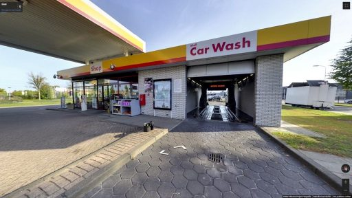 Virtuele tour van Shell op Google Streetview