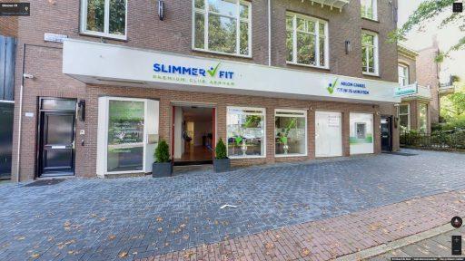 Virtuele tour van Slimmer-Fit op Google Streetview