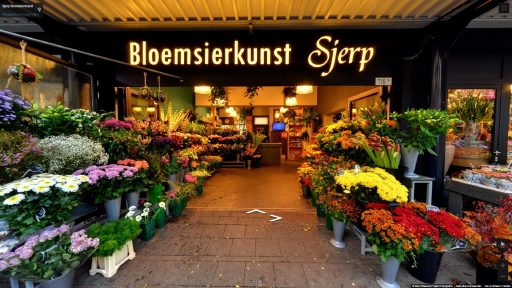 Virtuele tour van Sjerp Bloemsierkunst op Google Streetview