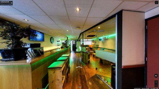 Virtuele tour van Coffeeshop De Wit op Google Streetview