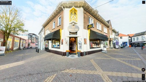 Virtuele tour van Donna Piu Lingerie op Google Streetview