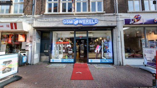 Virtuele tour van GSM Wereld op Google Streetview