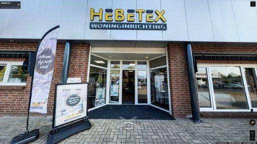 Virtuele tour van Hebetex B.V. op Google Streetview