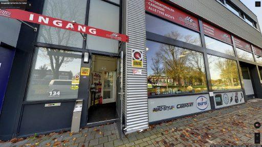 Virtuele tour van Hoogendijk Full Service Car Center op Google Streetview