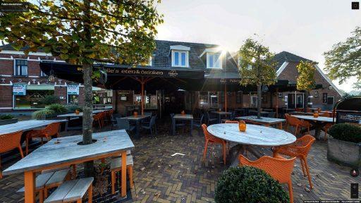 Virtuele tour van Pelle's eten&drinken op Google Streetview