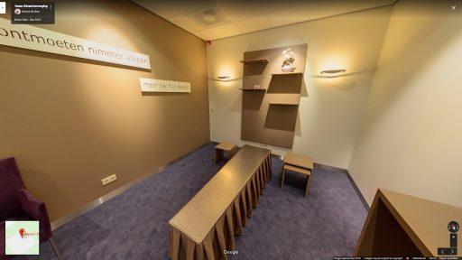 Virtuele tour van Uitvaartcentrum De Lariks op Google Streetview
