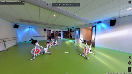 Virtuele tour van Mulder Sport Zoetermeer op Google Streetview