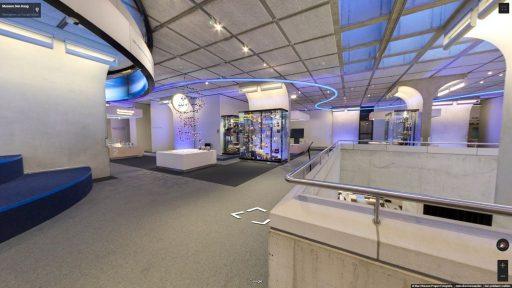 Virtuele tour van Museon op Google Streetview