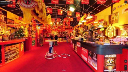 Virtuele tour van Vuurwerkgigant Apeldoorn op Google Streetview